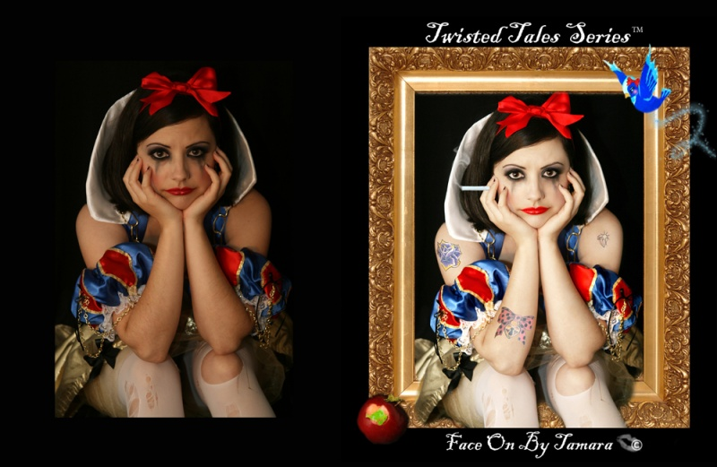 Oct 22, 2008 face on by tamara snowwhite- for my series