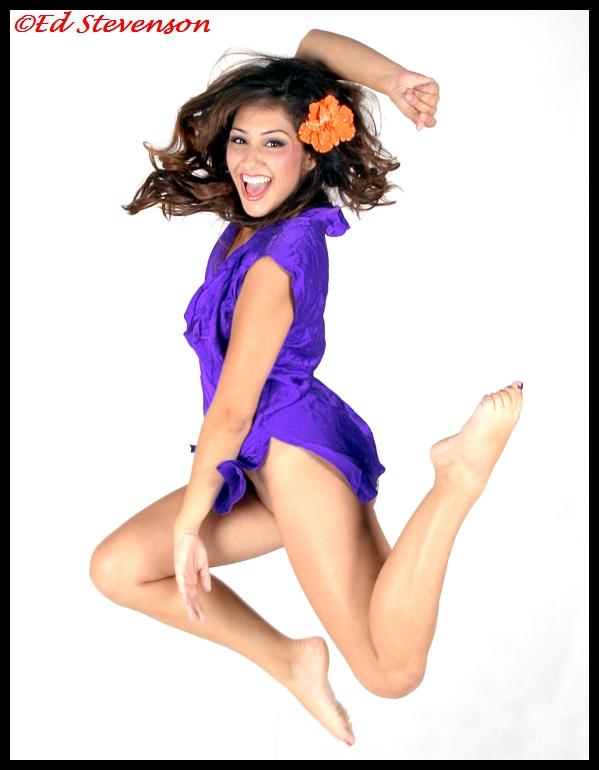 Los Angeles Oct 23, 2008 Ed Stevenson Giselle loves to dance