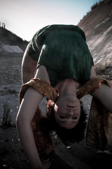 oakland, CA Oct 24, 2008 Nina Jeanine Frazier Backbend