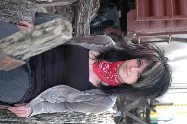 Female model photo shoot of Kaylee Joelle by Nickel Photography