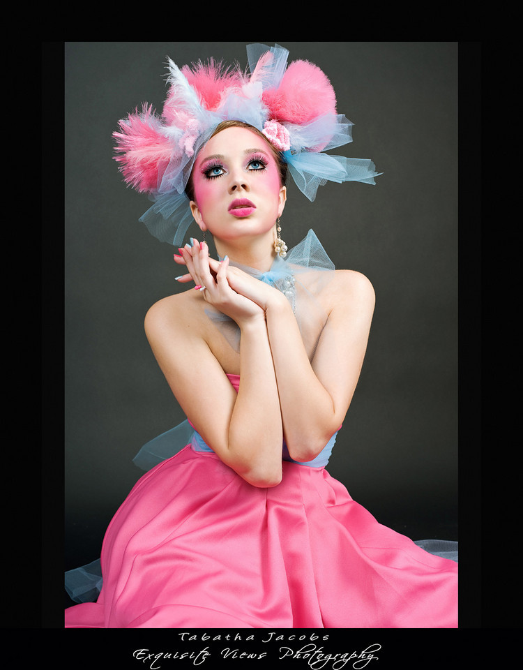 Oct 26, 2008 Model: Muze Dahl, MUA/Hair/Hair piece made by: Myself, Photograher: EV Photo