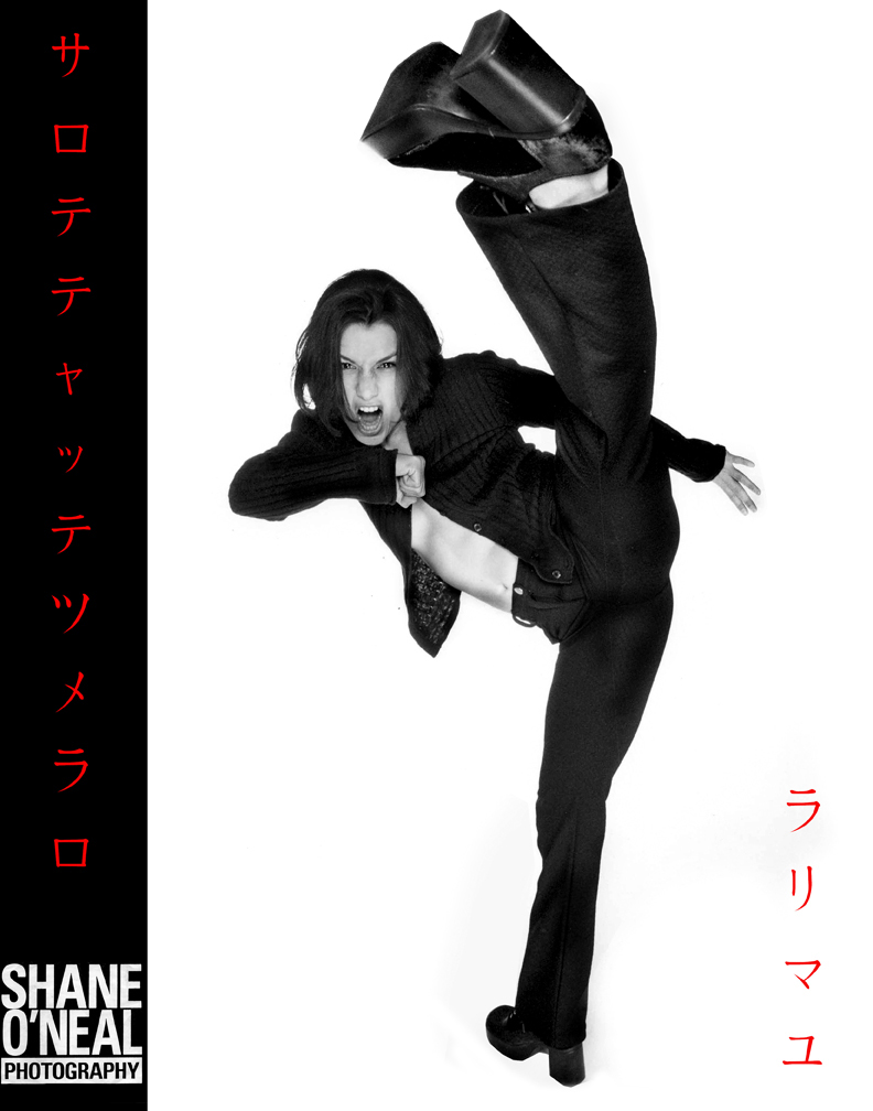 Studio 13 Oct 27, 2008 Shane ONeal Photography Jenni Ballard Kick self promo
