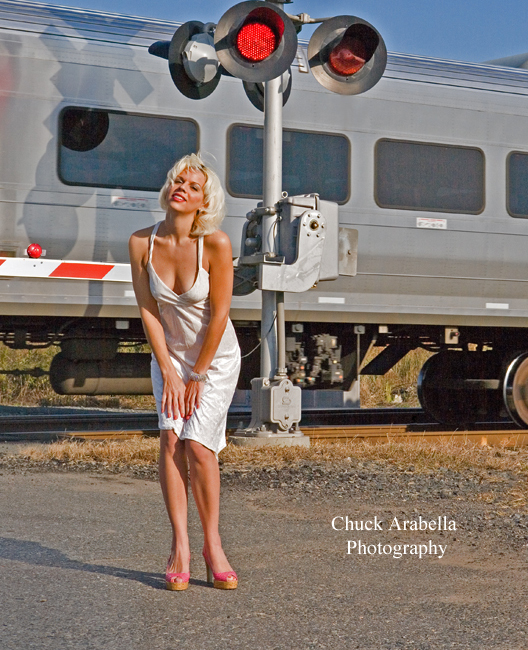 New Jersey Oct 27, 2008 Photo by Chuck Arabella Photography- Train shoot