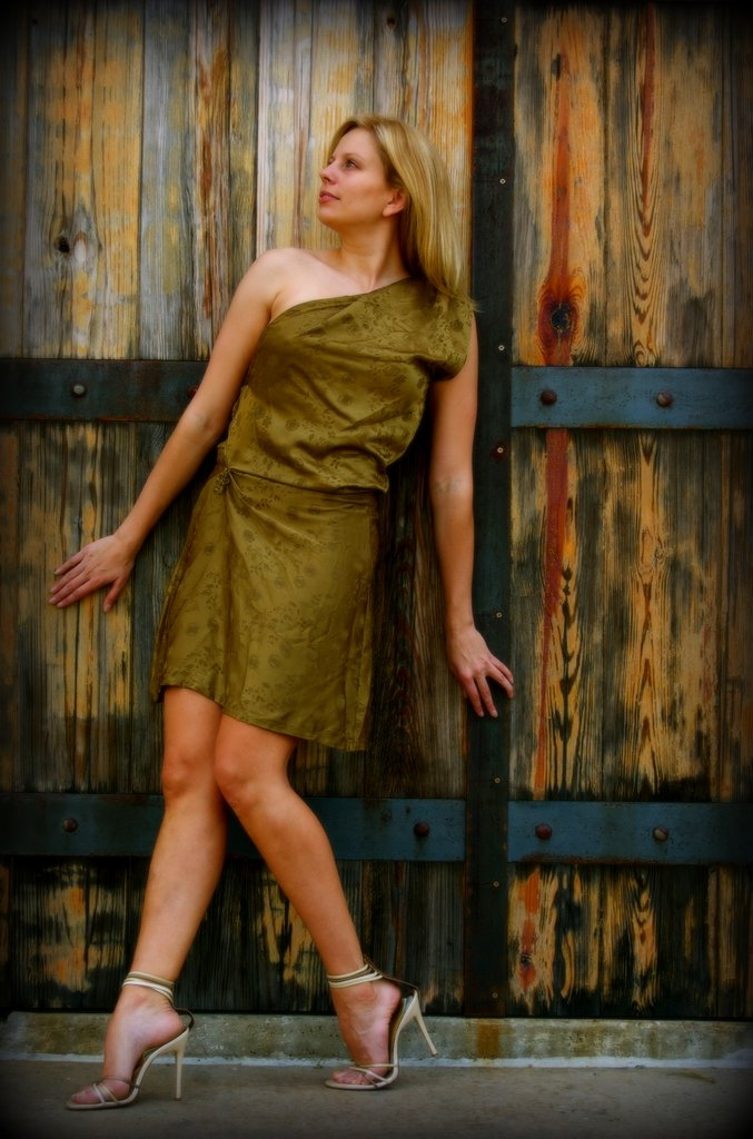 Female model photo shoot of bliss photo co in Austin, TX, clothing designed by Loves Mariessa