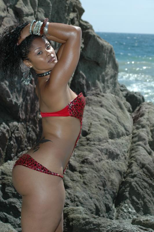 Male and Female model photo shoot of La Mega Photography and Maliah Online in Malibu, California