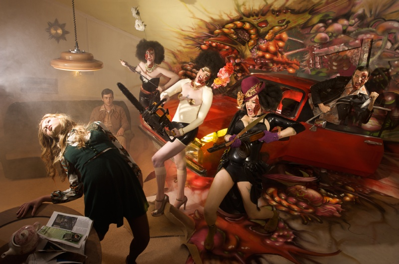 Garage Studios, Brighton Oct 28, 2008 DarkDaze@DeadDeadDead When Hell fills up the DeadDeadDead will rise