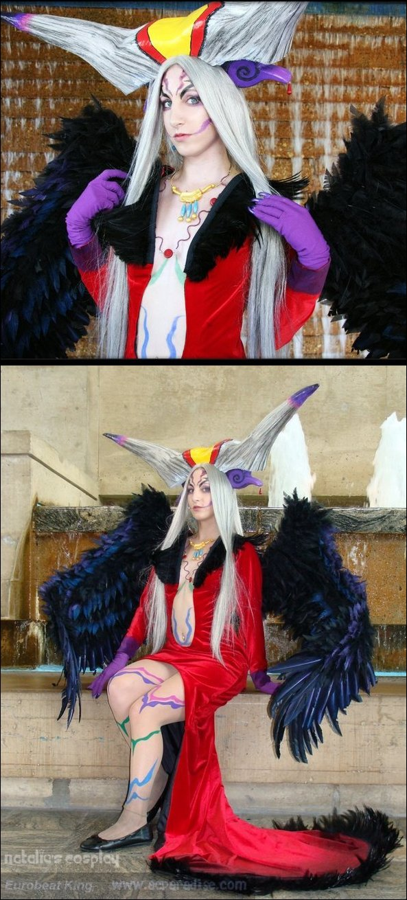 Oct 28, 2008 Sorceress Ultimecia (costume based off of character from video game Final Fantasy 8)