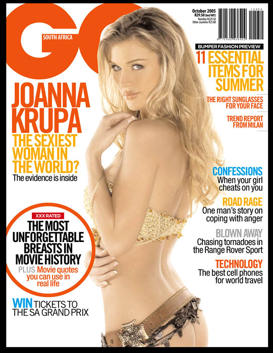 Hollywood! Oct 29, 2008 Joanna Krupa, GQ SA