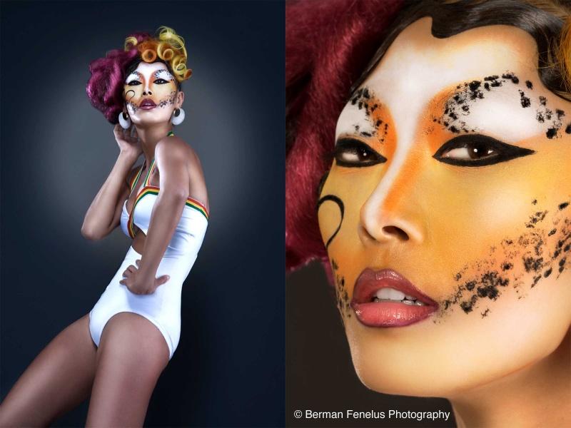 Brooklyn Oct 29, 2008 Berman Fenelus Makeup & Hair Styling by Tiffany C. Reid