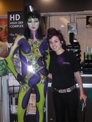 Nov 01, 2008 Miami Makeup show 08