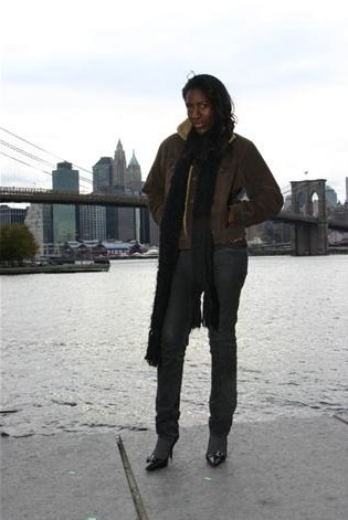 Female model photo shoot of Kai Soho in Brooklyn