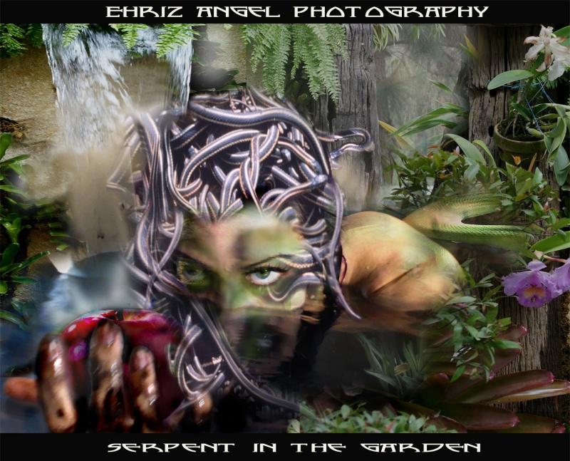 The Garden of Eden Nov 02, 2008 Ehriz Angel Photography  Serpent In The Garden