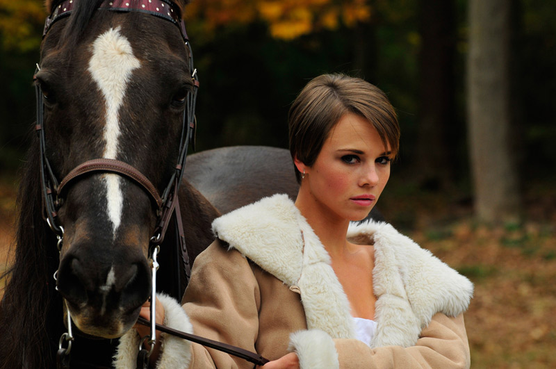 Nov 02, 2008 Christian Kieffer Ashley and the horse