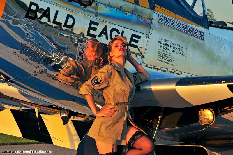 Nov 02, 2008 Christian Kieffer P-51 army pinup - Lindsay Caldwell