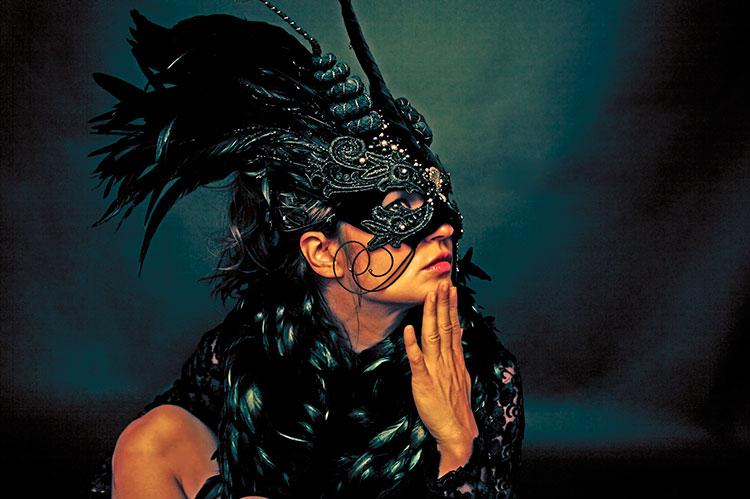 Washington, DC Nov 03, 2008 Copyright © 2008 passiontolive DJ Rap in handmade Cirque du Soleil Mask