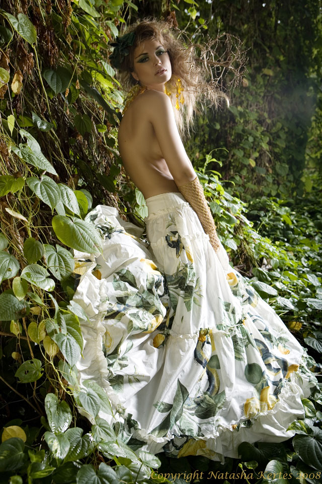 tropical forest Nov 03, 2008 Natasha Kertes 2008. All rights reserved A midnight summer dream. My own styling and my talented team of hair stylist Ginger and make up by Arlene