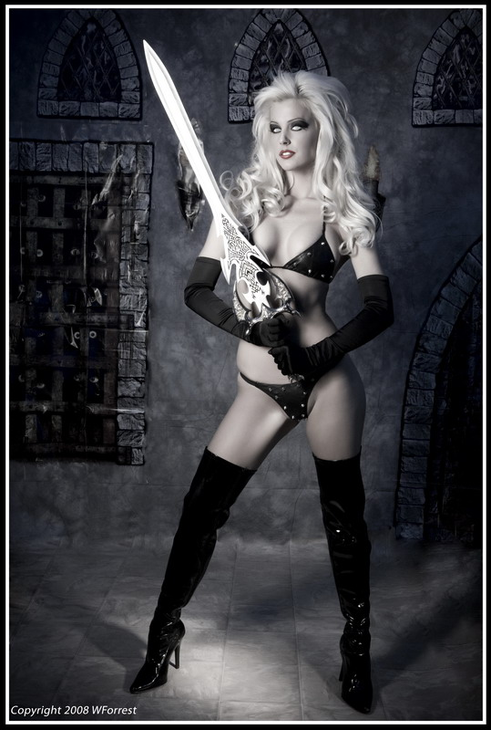 Dartmouth, NS, Canada Nov 04, 2008 WForrest Photography Tribute to Lady Death