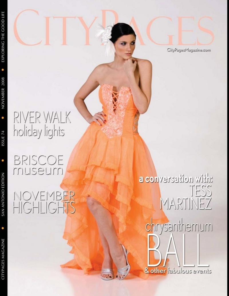 Nov 04, 2008 Designer: NG Annie-  CityPage Magazine cover.