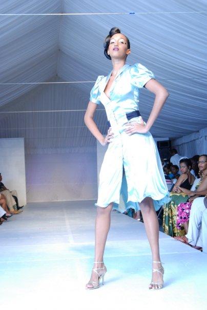 Barbados Nov 06, 2008 Absolut Caribbean Fashion Show-Romero Bryan