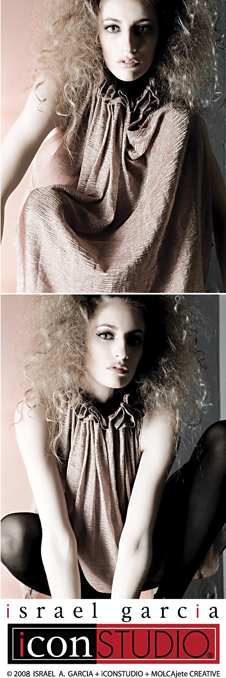 Nov 06, 2008 ©1977-2008 ISRAEL A. GARCIA + iCONSTUDIO + MOLCAjete CREATIVE Art Direction: Israel Garcia  Mua/Hair: Bella Epoque