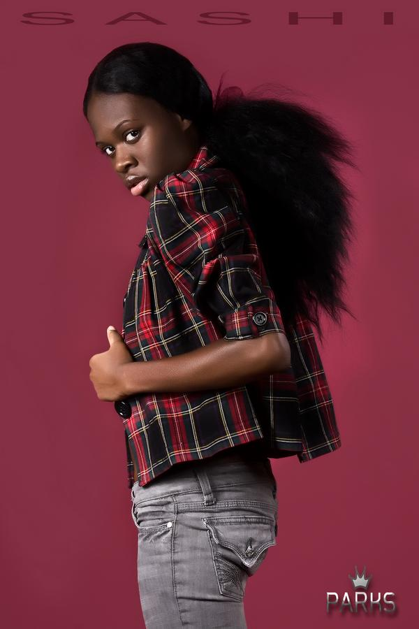 Female model photo shoot of Sashi Cool by LLOYD PARKS in BRONX