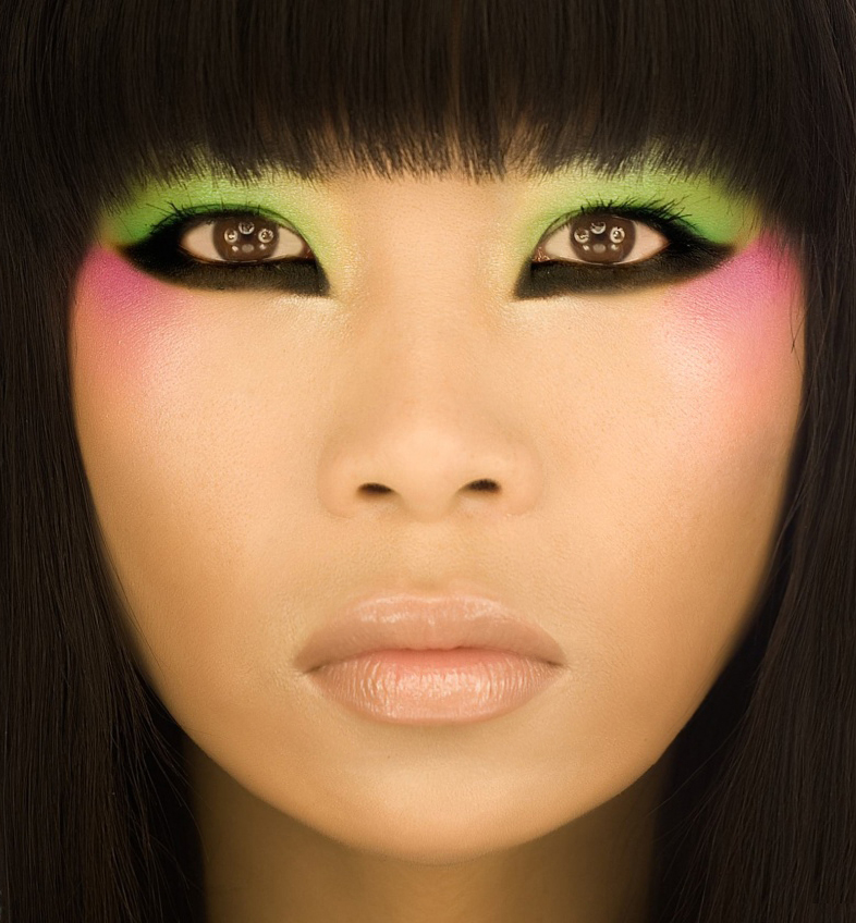 NY Nov 07, 2008 Photo: vvv, Makeup: Erin Make Up For Ever Eye Shadow Sephora Ad