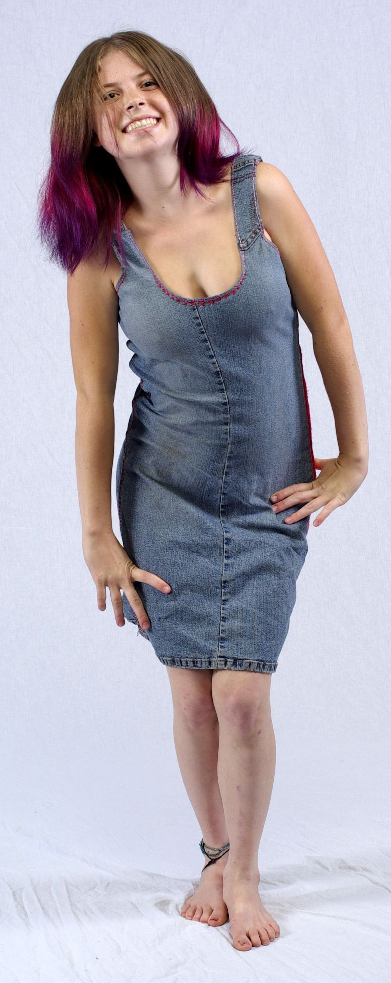 Nov 07, 2008 Jon Souer  Dress I Made From A Pair Of Jeans