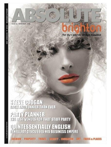 UK Nov 08, 2008 Absolute Magazine Cover