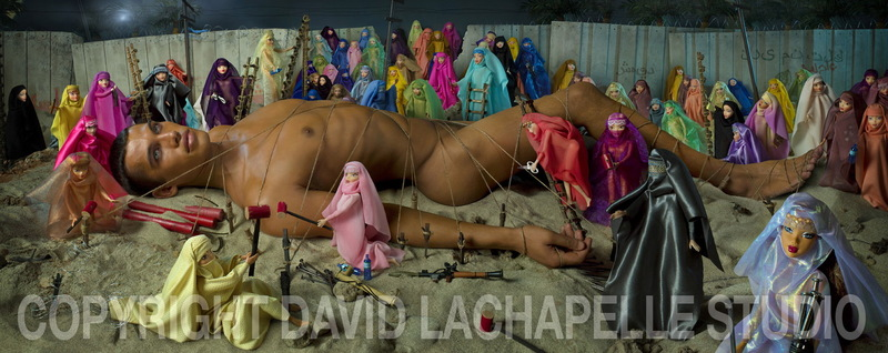 Hollywood, CA Nov 08, 2008 David La Chapelle Studio Would Be Martyr and 72 Virgins