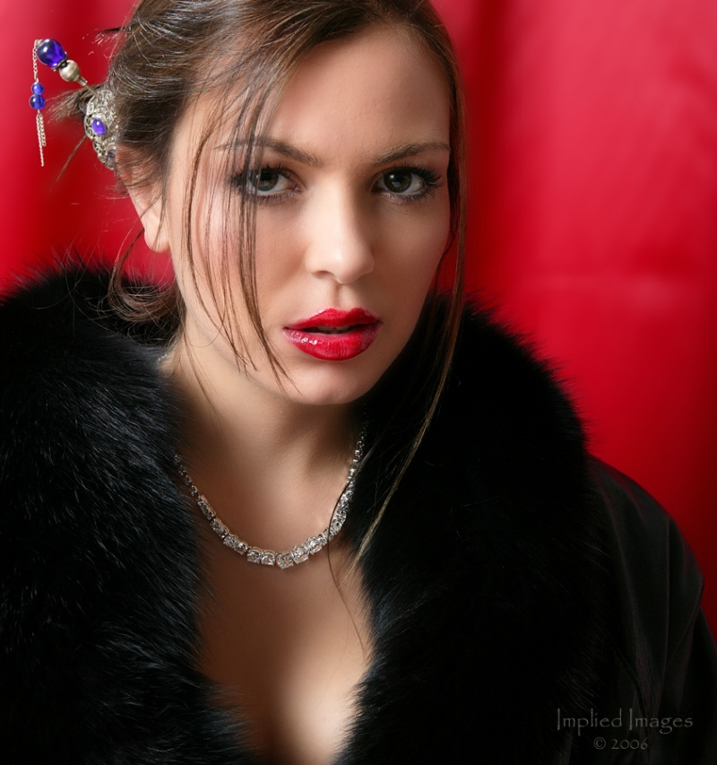 Shot at Implied Images Studio SLC. Nov 09, 2008 Implied Images Lipstick Diamonds and Fur