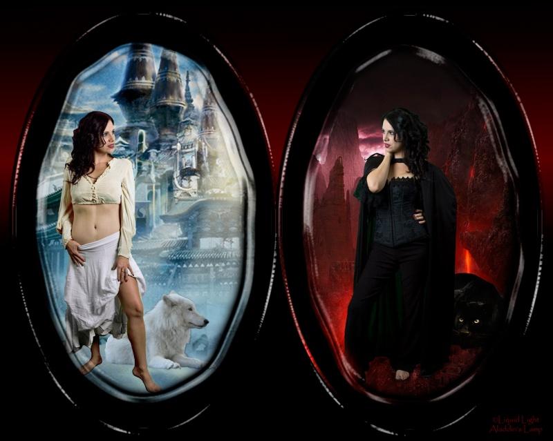 Hopkinton studio. Nov 10, 2008 Liquid Light/Aladdins Lamp Good Witch, Bad Witch