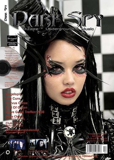Nov 11, 2008 Angelspit & Helen White 2008 Dark Spy Magazine Cover 2008 (Germany)