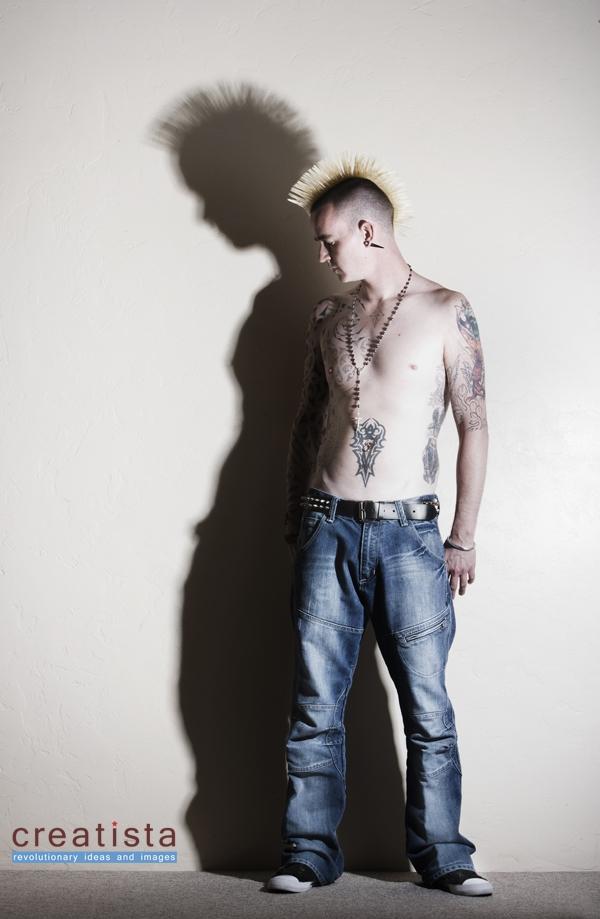 Male model photo shoot of tattoo23 by Creatista in Tuscon, Arizona, USA - Oct '08
