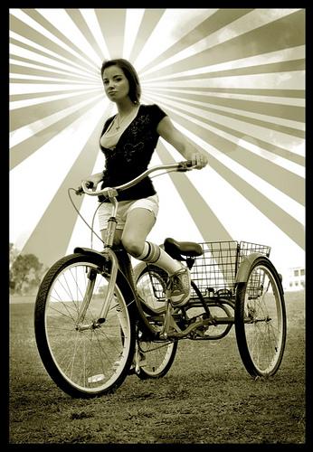 Nov 11, 2008 Sarah and her Trike