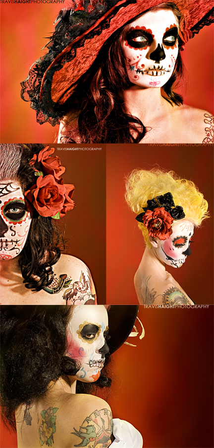muertos Nov 11, 2008 travishaightphotography catrina series ~ MUA by meleah ~ hair by amber ~ photo by travis haight