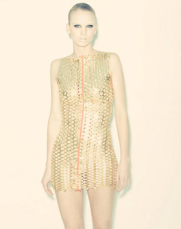 Nov 11, 2008 photog:djp, model:kelsey (next) metallic gold dress
