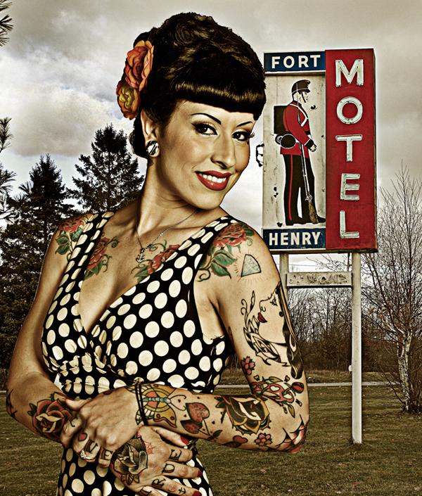 Kingston, ON Nov 12, 2008 Bernard Clark Fort Henry Motel Welcome
