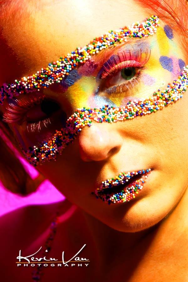 Studio - Tucson, AZ Nov 12, 2008 Kevin Van Photography Candy Mask