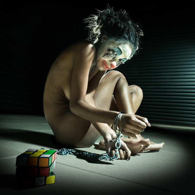 Nov 12, 2008 Elwin Goh Photography Abused Clown