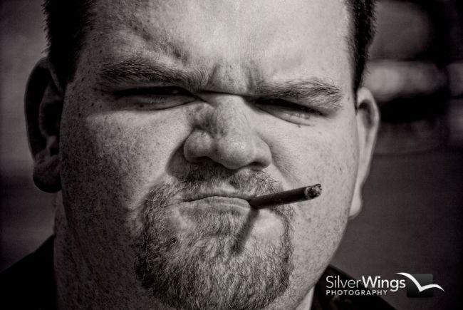 Male model photo shoot of Nick G by Tim Baker- Silver Wings