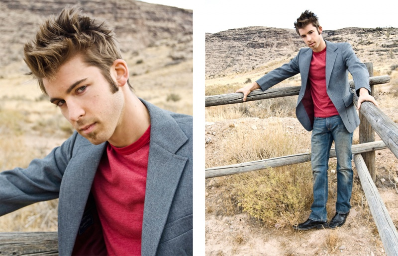 Male model photo shoot of Bryan Luksus by Miguel Benitez and miguelbenitez in Red Rock Canyon: Las Vegas, NV
