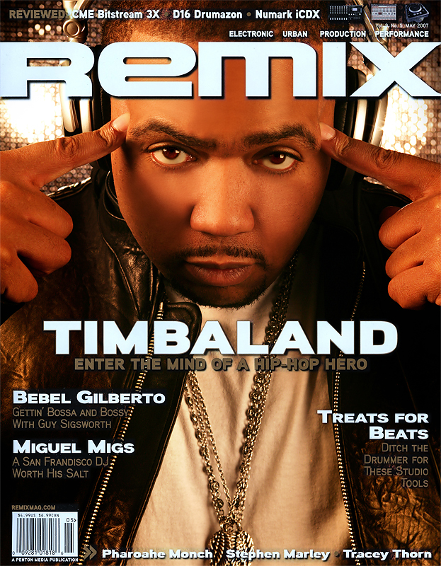 Chicago Nov 15, 2008 Markese Photography TIMBALAND - Cover for REMIX MAGAZINE