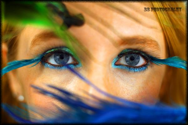 Nov 15, 2008 BB Photography Peacock eyes- MU done by me