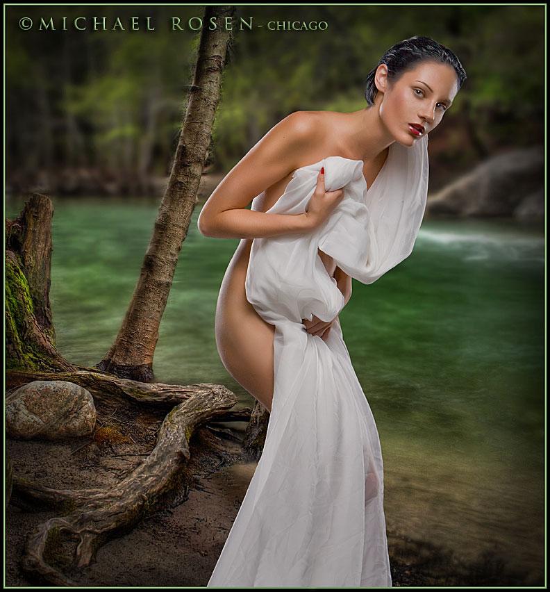 Male and Female model photo shoot of Michael Rosen - Chicago and Gigi Bean in Rosen Studio - Chicago