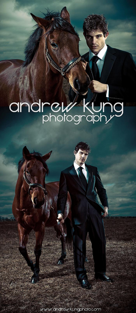 Midway, KY Nov 16, 2008 Copyright 2008 Andrew Kung Joshua D. & Horse Editorial - Pinnacle 10