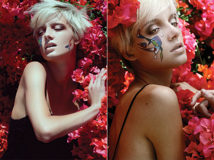 Nov 17, 2008 Mariah Kord/ Dylan S V Magazine rip-off. Model: Alina Levichkina