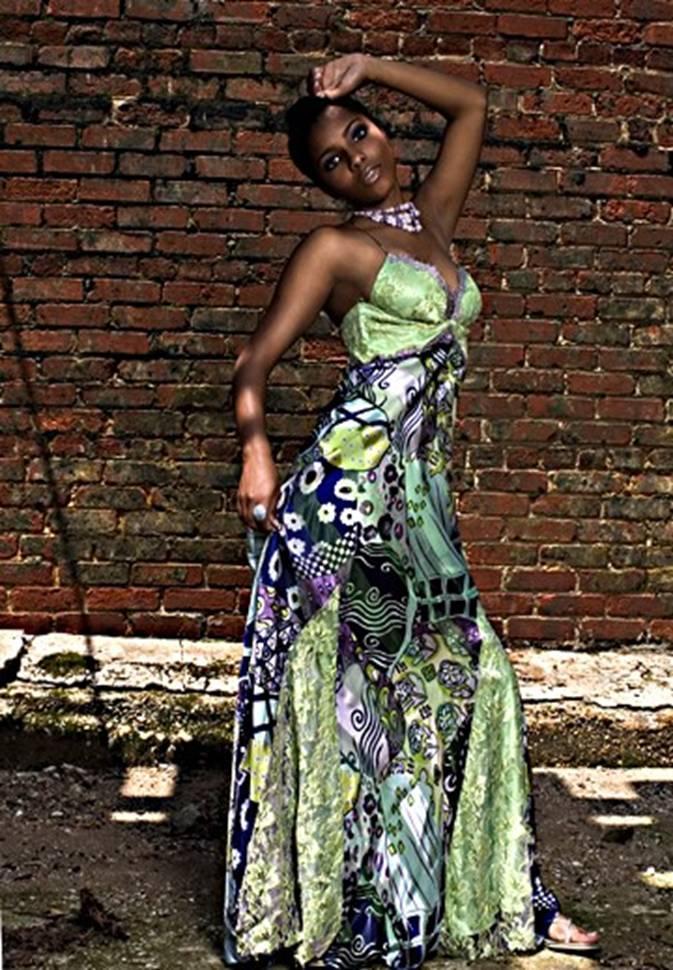 Female model photo shoot of Flawless Fashion Group in Atlanta, Georgia