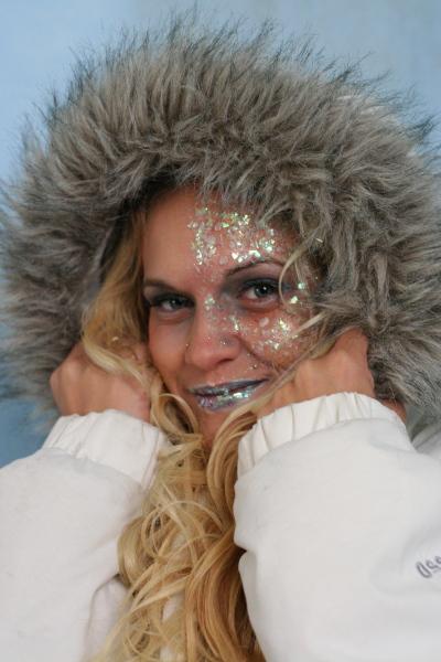 Female model photo shoot of Karen L Hudson in Studio