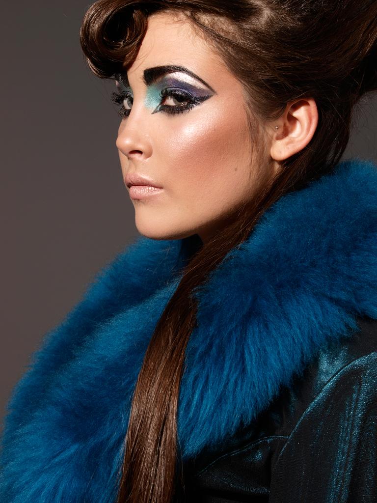 Adrian Pinis Studio Nov 17, 2008 HarjTT Catwalk - Laura Nuttal and MUA/Hair/Styling by Selena, Wardrobe FGM