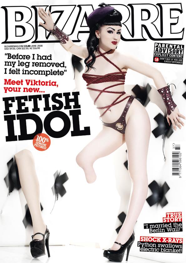 London Nov 18, 2008 Dennis Publishing Bizarre Issue 137
